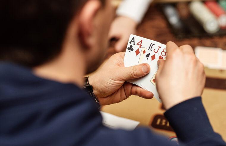 poker play